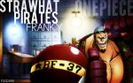 Straw Hat Pirates, Franky. by fogdark