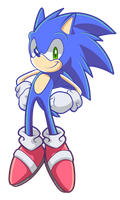Sonic the Hedgehog by SiIent-AngeI