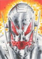Ultron Personnal Sketch Card by idirt
