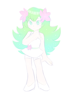 Shaymin Girl by azulila