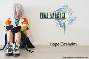 FinalFantasy XIII:Hope Estheim by w4n1n0k0