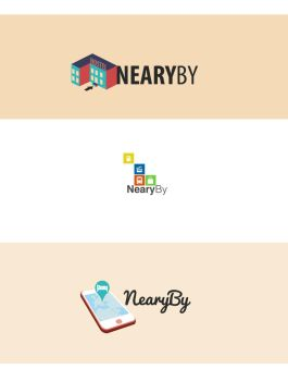 Logo NearyBy app by elilay