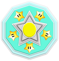 Rosalina Superstars Emblem by RafaelMartins