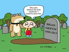 RIP Brian Griffin by DJgames