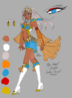 Sailor Puriel (redesigned) :) by PhiAngel