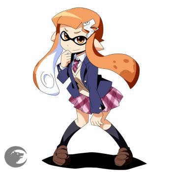 Splatoon Inkling by Dalley-Le-Alpha