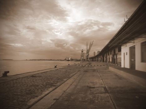 A memory of the docks by milhome