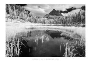 Lago Antorno IR - I by DimensionSeven