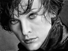 :MILLA JOVOVICH: by Angelstorm-82