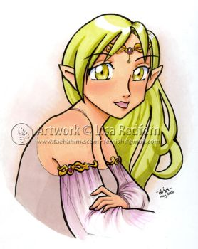 Elf, In Markers by taeha