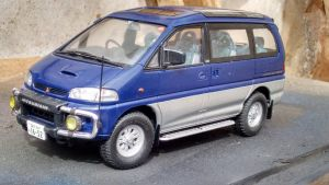 Mitsubishi Delica 1/24 (2) by And300ZX