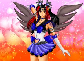 Sailor Blue Steele Moon by NightSMars