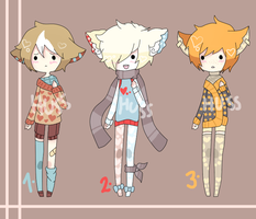 Auctions. {01} Cutie Batch. [CLOSED!] by Piiyo-chan