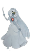 Beating Heart Bride Sprite by LadyHexaKnight