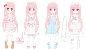 .:Misora's reference sheet:. by Tiruru