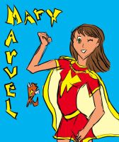 Mary Marvel by Xgirl1251