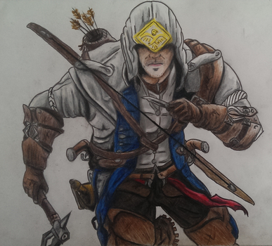 Assassin's Creed 3 - Connor by joereynolds