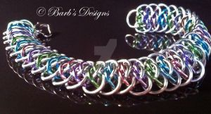 Spring Chainmaille by Barbsdesigns