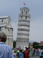Leaning Tower of Pisa by nanjari