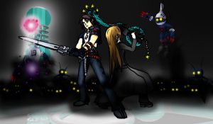Blood and Squall by RoxasTsuna