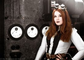 MADmoiselle Meli on the Steampunk Con Anno 1900 by MADmoiselleMeli