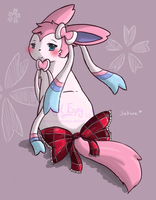 JMM: Sakura Sylveon by Angel-Espy