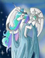 My Little Skyrim: Celestia as Azura by CannotBeUnseen