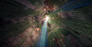 Minecraft Skylight by aquaarmor