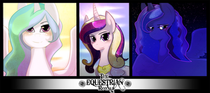 The Equestrian royals by Cervides