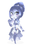 Moonstone chibi (COMMISSION REMINDER) by Vanillasama67