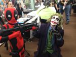 Deadpool catches the Joker at the Con by agentpalmer
