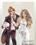 Commission Mort y Lucrezia wedding by AngelaLara