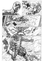 spidey vs the shield page 3 by 0mi