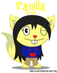 HTF PC: Vanilla the Wolf by skull1045fox