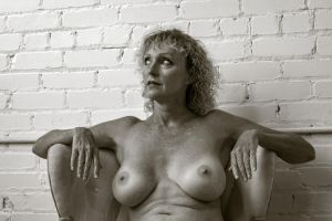 Portrait of the Nude Model 2 by rylstone