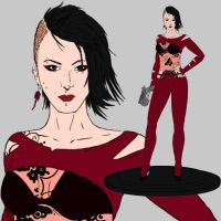 Ada Wong Redesign Contest by Qsec