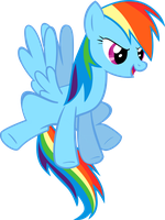 Rainbow dash is on it vector by Dutchcrafter