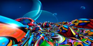 Endless Fractal Fantasy by DorianoArt