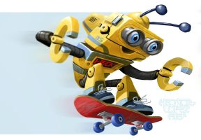 ROBO skate by heckthor