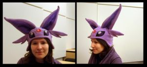 Espeon Hat by fireflytwinkletoes