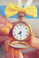 YOU-cee: This Yellow Pocket Watch by YOU-cee