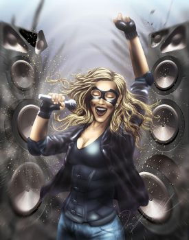Black Canary by Steelbred