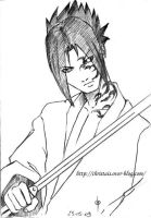 Sasuke_Ushiwa by ChrisTais