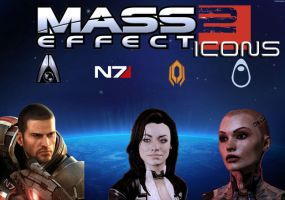 Mass Effect 2 Icons Win-MAC by xnauticalstar