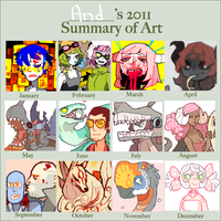 2011 art summary meme thing by Andcetera