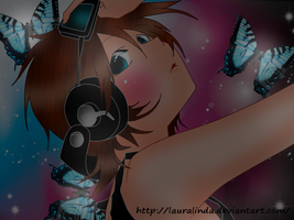 .:Butterfly On Your Right Shoulder:. by lauralinda