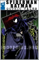 Spidey and Bats, Again by JohnPrisk