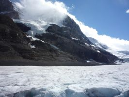 Athabasca Glacier 39 by raindroppe
