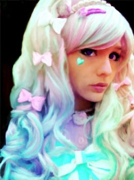 Sweet Lolita Girl by Tanya-Dawn-Art