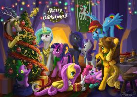 2014 MLP Merry Christmas by seer45